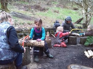 Forest school west yorkshire