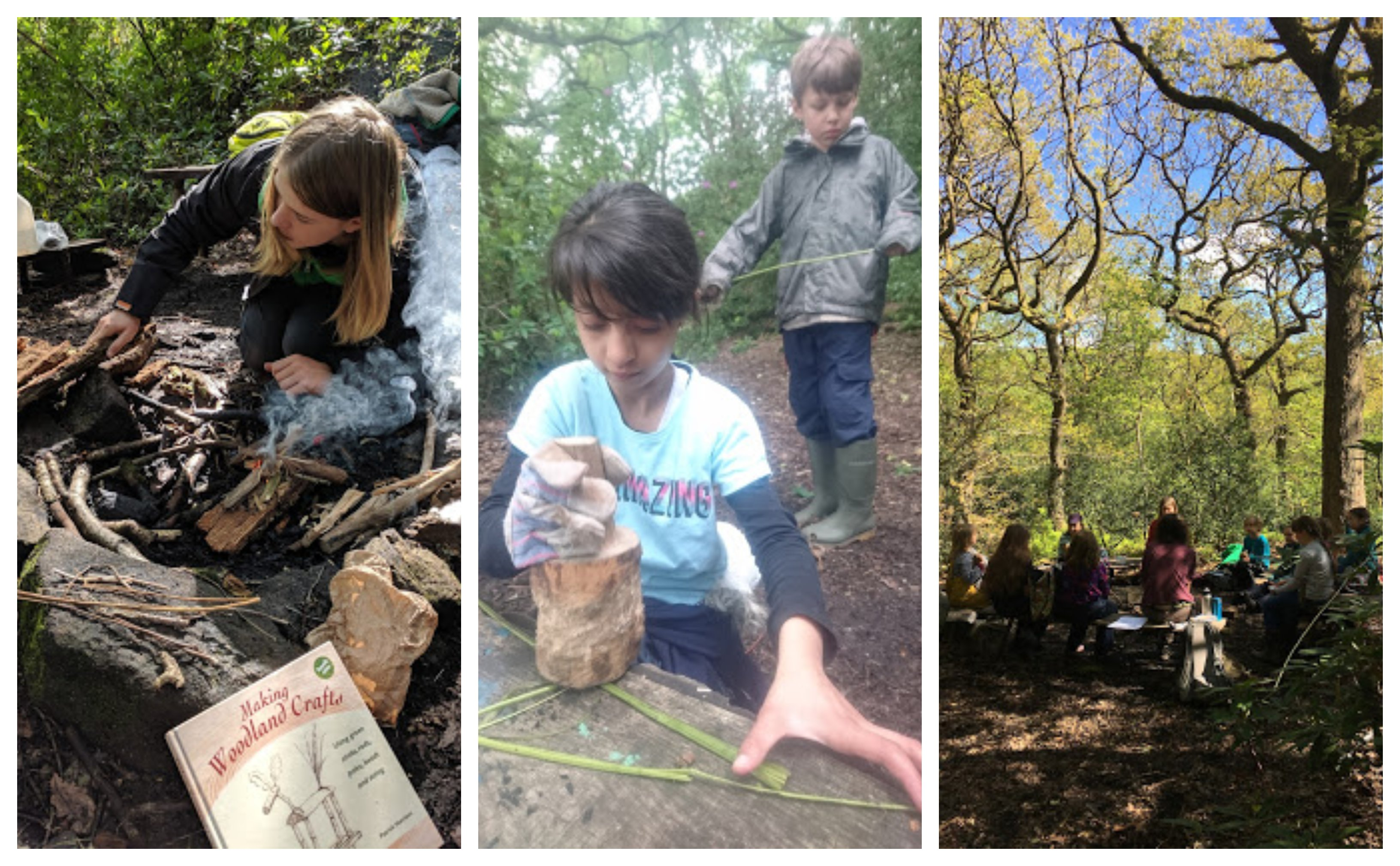 manchester bushcraft for kids